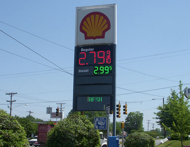 USA LED Gas Price Sign