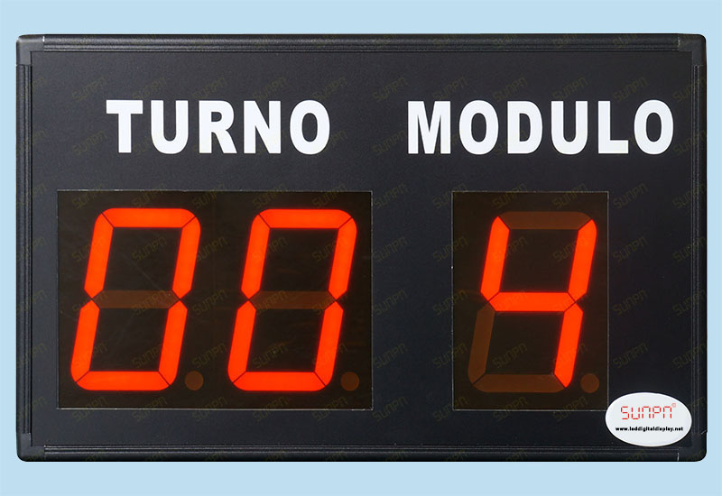 USA LED counter sign(Three digital)